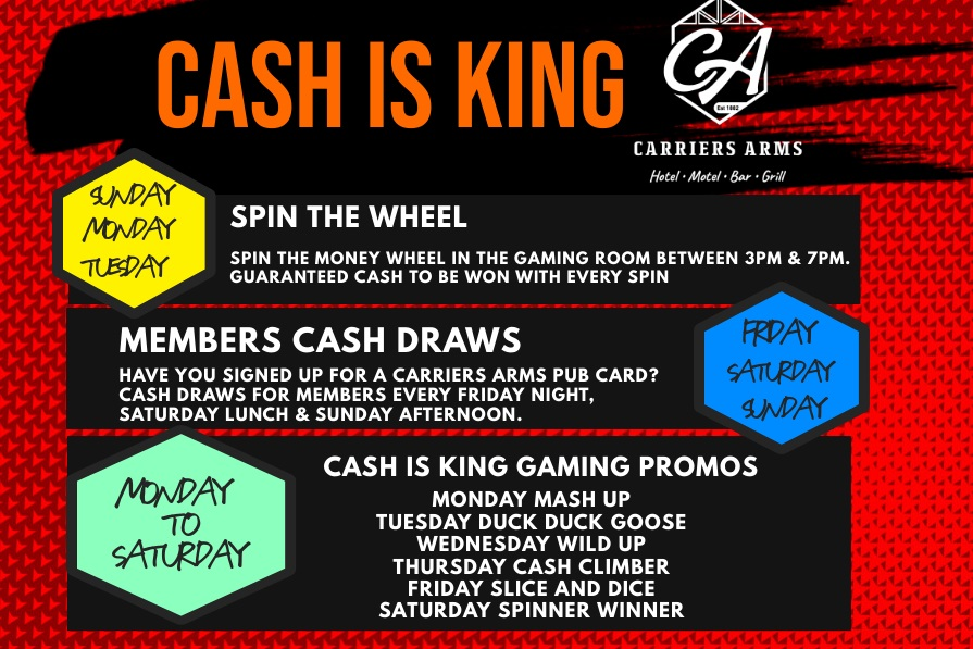 Cash is King Updated
